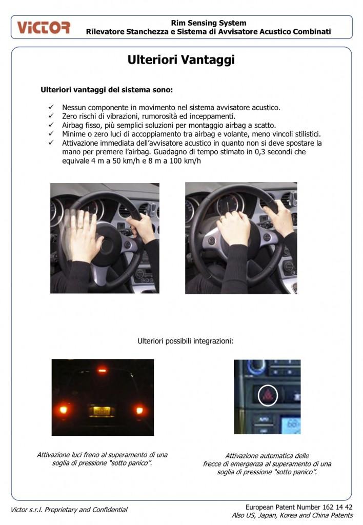 Rim Sensing System - Rilevatore Stanchezza e Sistema di Avvisatore Acustico Combinati